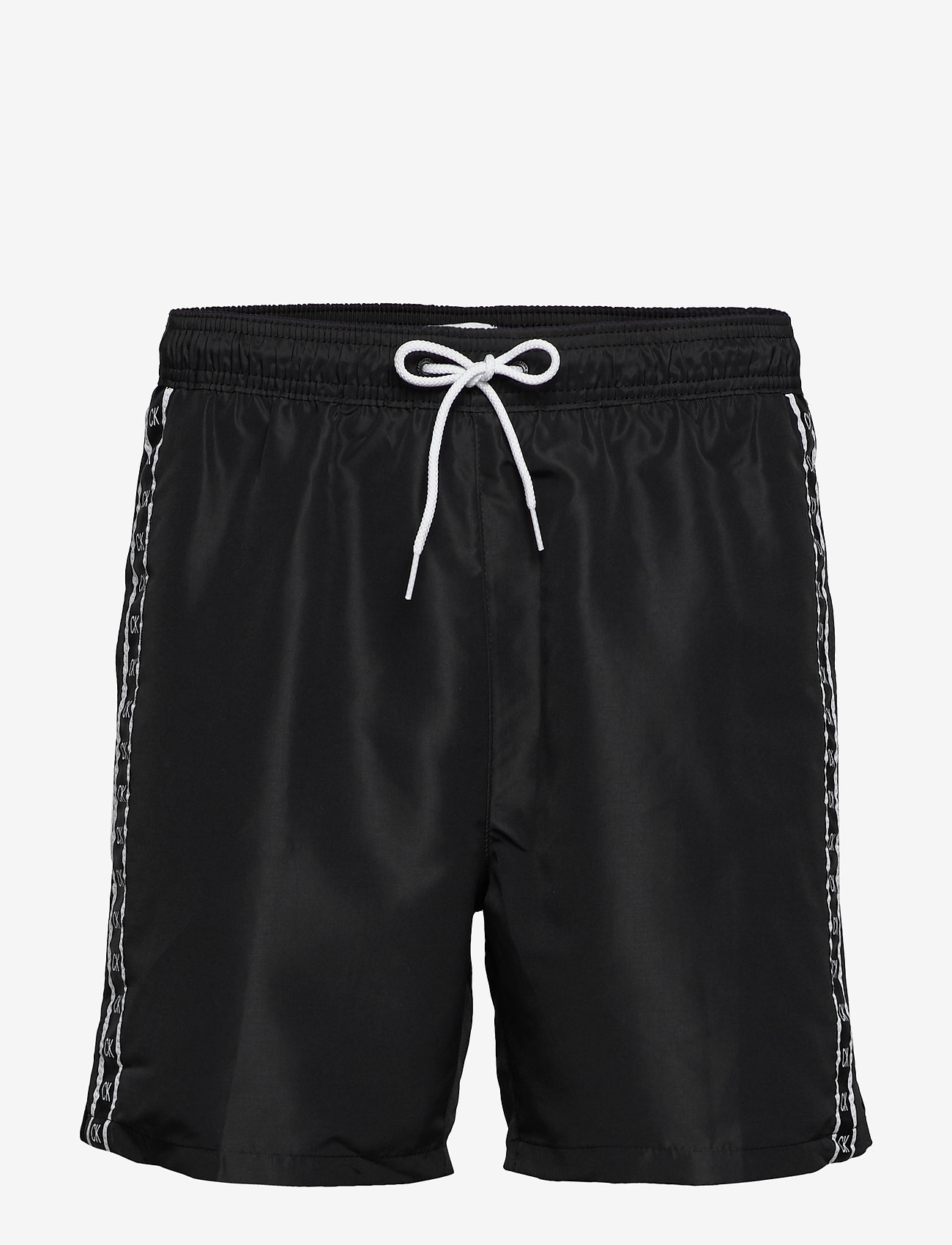 Calvin Klein - MEDIUM DRAWSTRING - badehosen - pvh black - 0