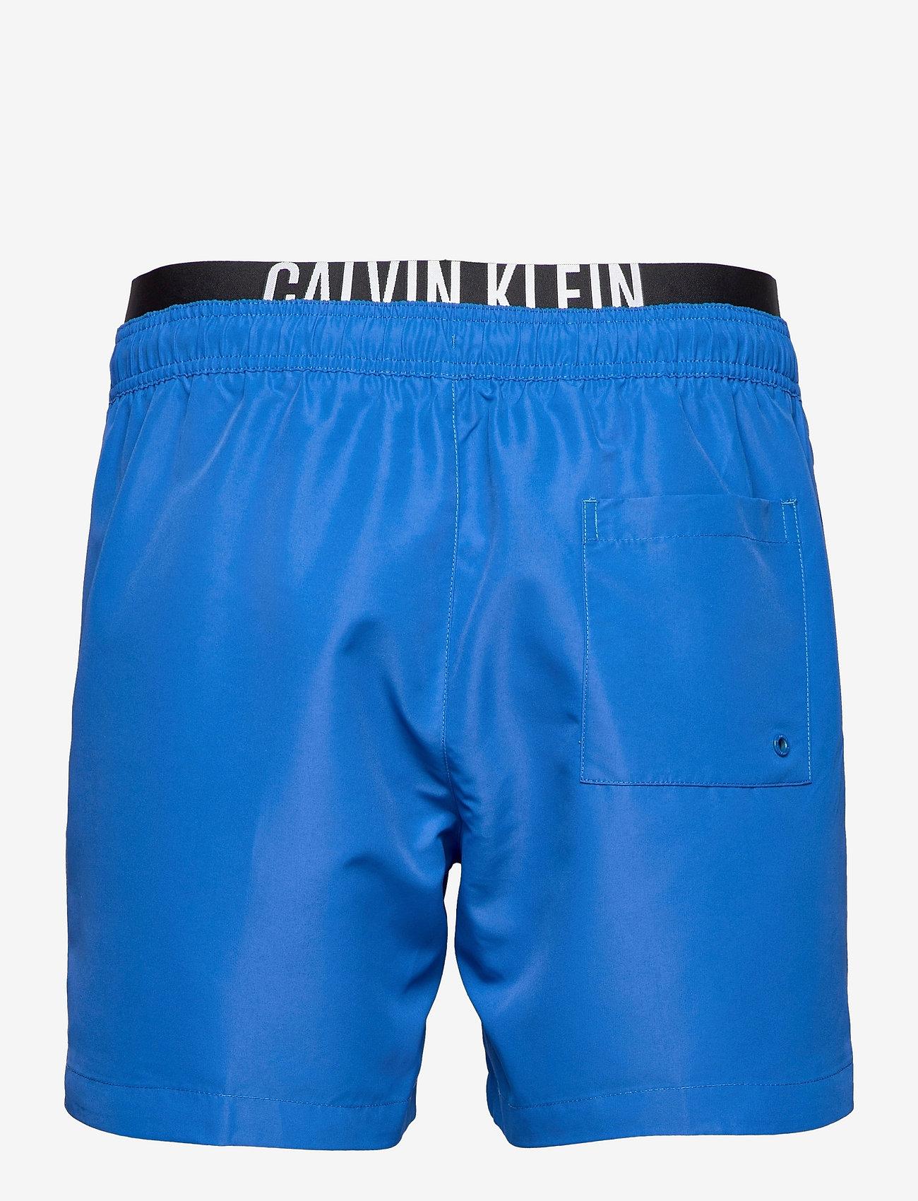 Calvin Klein - MEDIUM DOUBLE WB - shorts de bain - bobby blue - 1