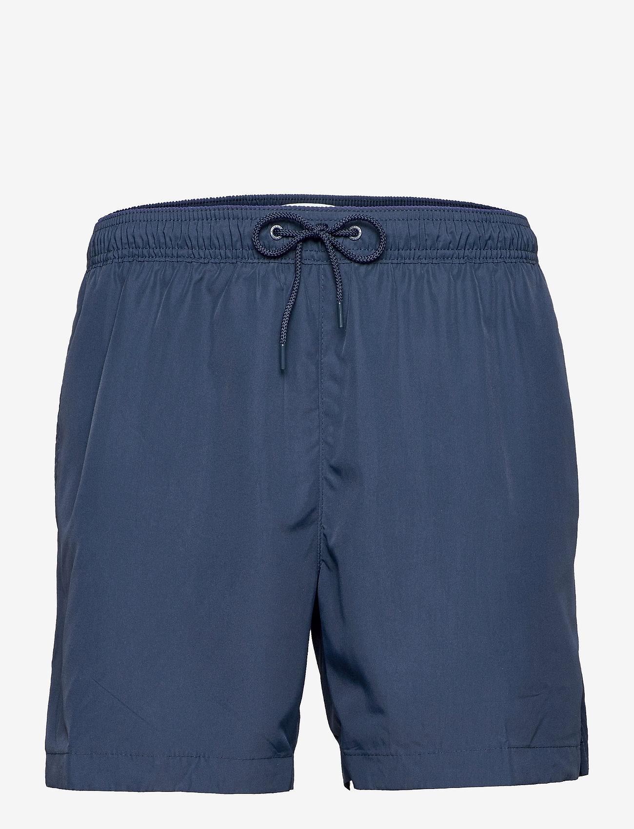 Calvin Klein - MEDIUM DRAWSTRING - shorts de bain - black iris - 0