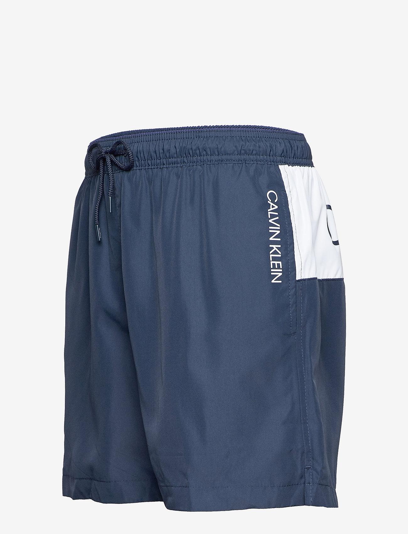 Calvin Klein - MEDIUM DRAWSTRING - shorts de bain - black iris - 2