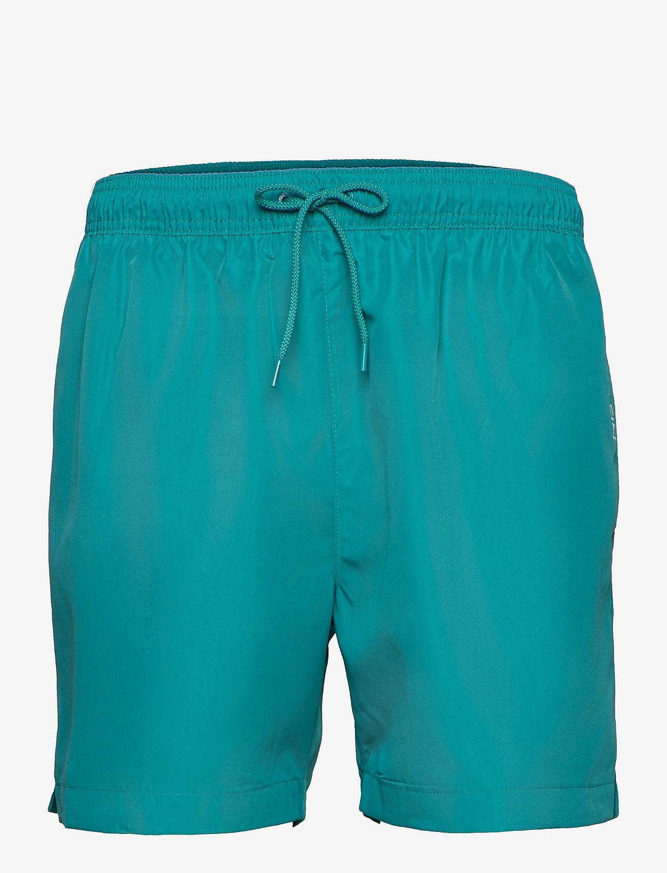 Calvin Klein - MEDIUM DRAWSTRING - shorts - seans teal - 0