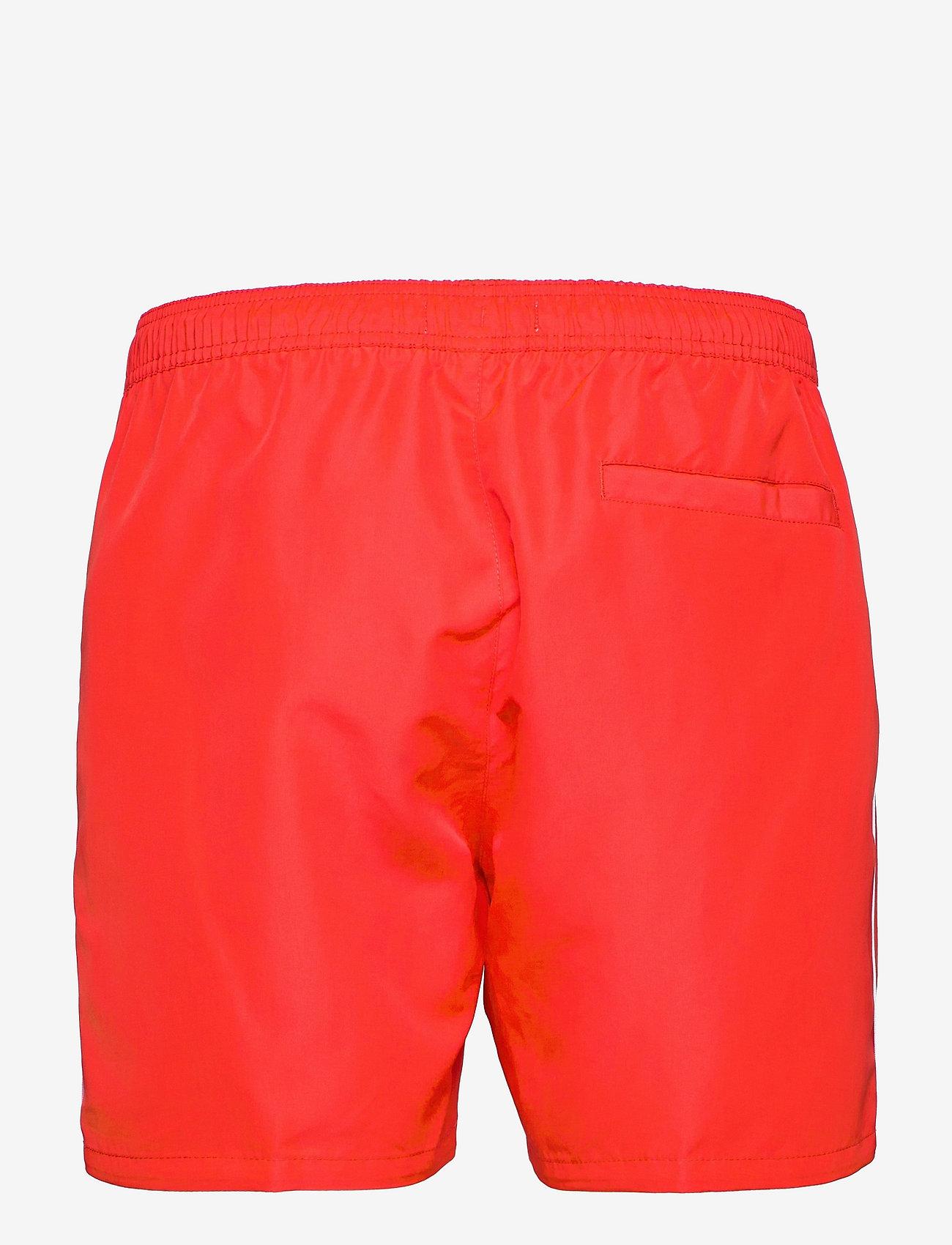 Calvin Klein - MEDIUM DRAWSTRING - shorts de bain - fierce red - 1