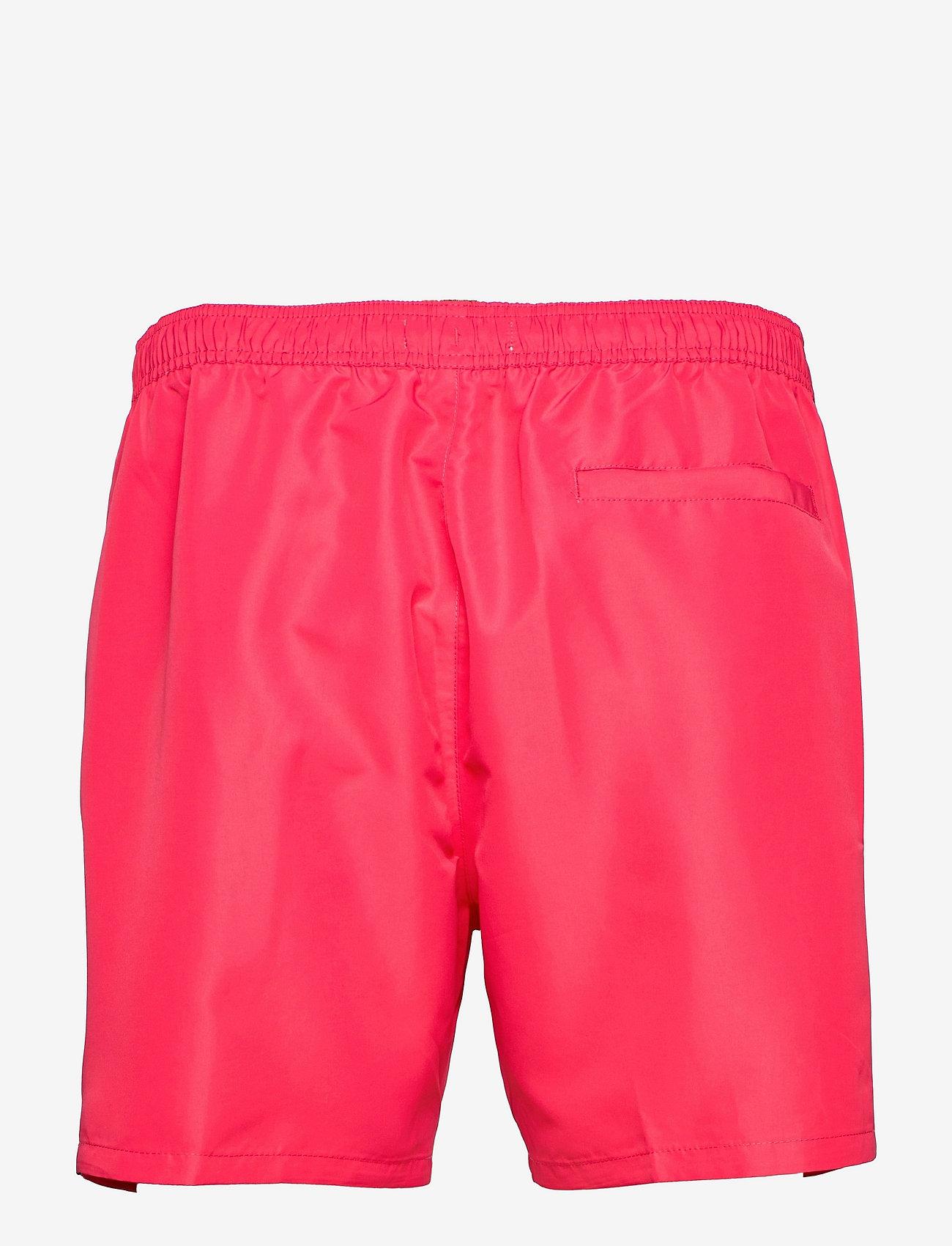 Calvin Klein - MEDIUM DRAWSTRING - shorts de bain - pink heart - 1