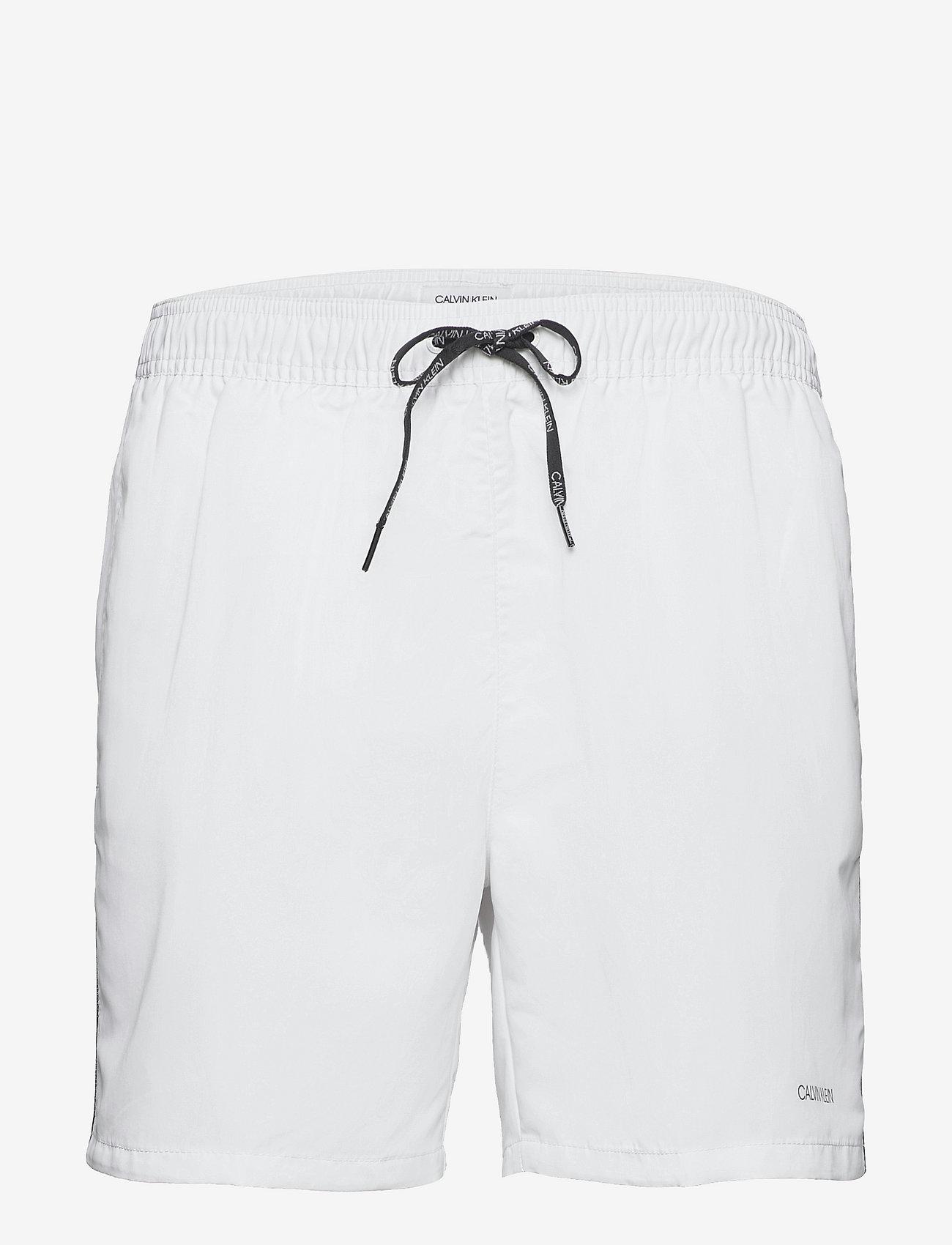 Calvin Klein - MEDIUM DRAWSTRING - shorts de bain - pvh classic white - 0