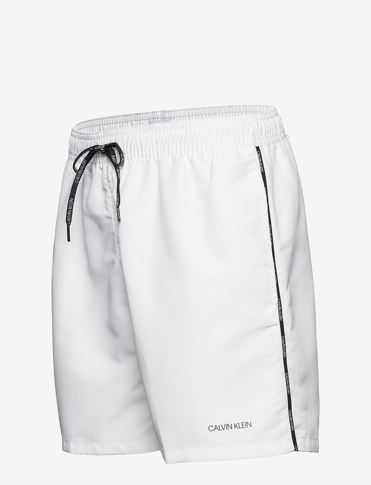 Calvin Klein - MEDIUM DRAWSTRING - shorts de bain - pvh classic white - 3