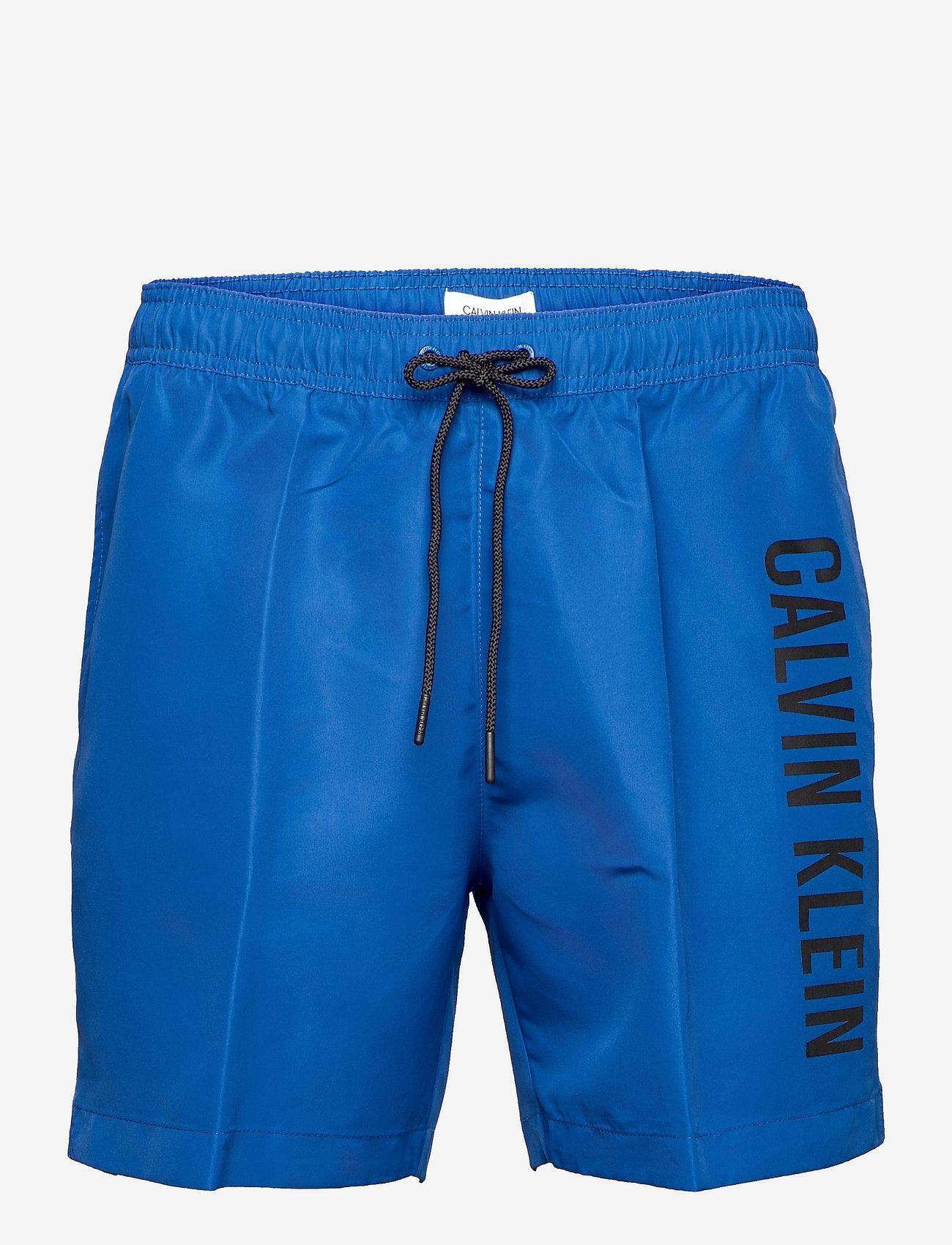 Calvin Klein - MEDIUM DRAWSTRING - shorts de bain - bobby blue - 0