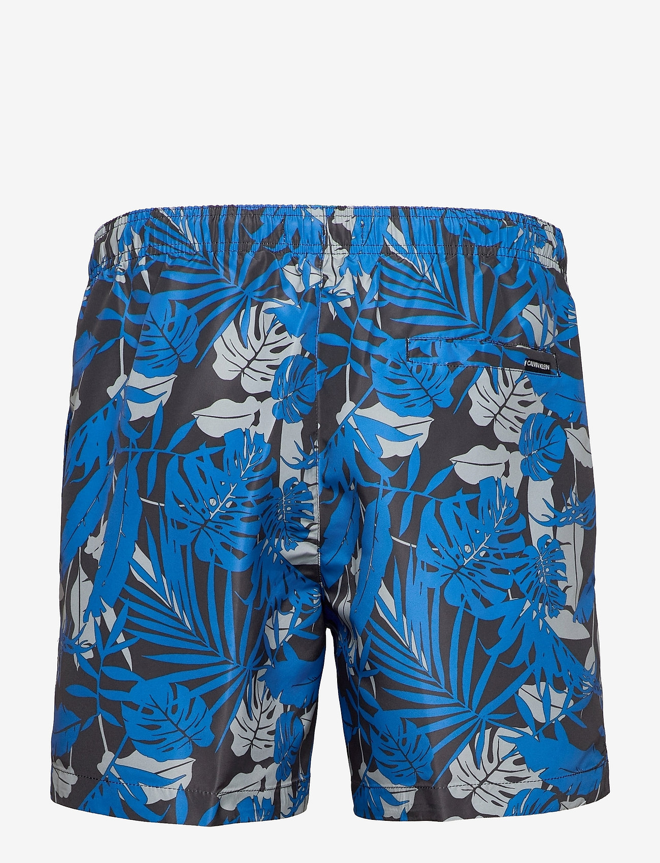 Calvin Klein - MEDIUM DRAWSTRING-PRINT - shorts - tropical print black iris - 1