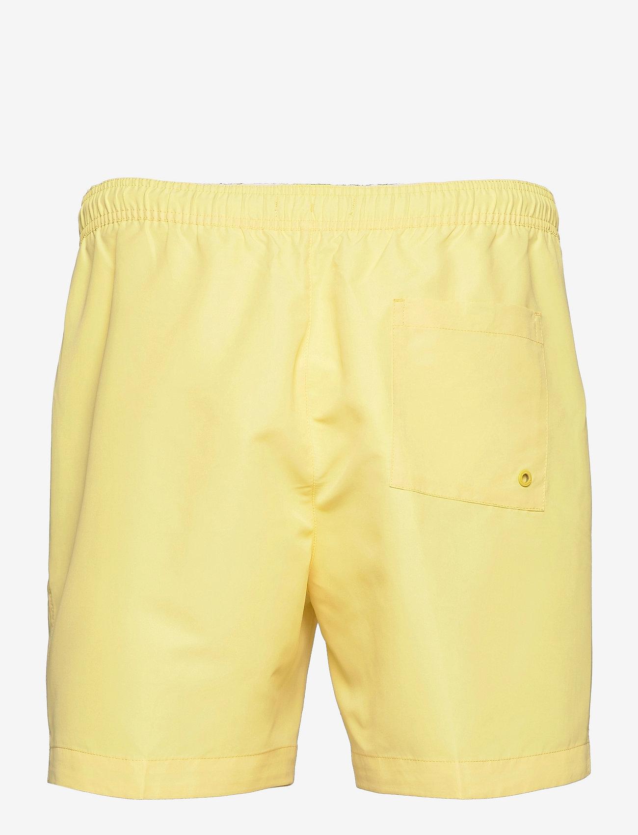 Calvin Klein - MEDIUM DRAWSTRING - shorts de bain - april yellow - 1