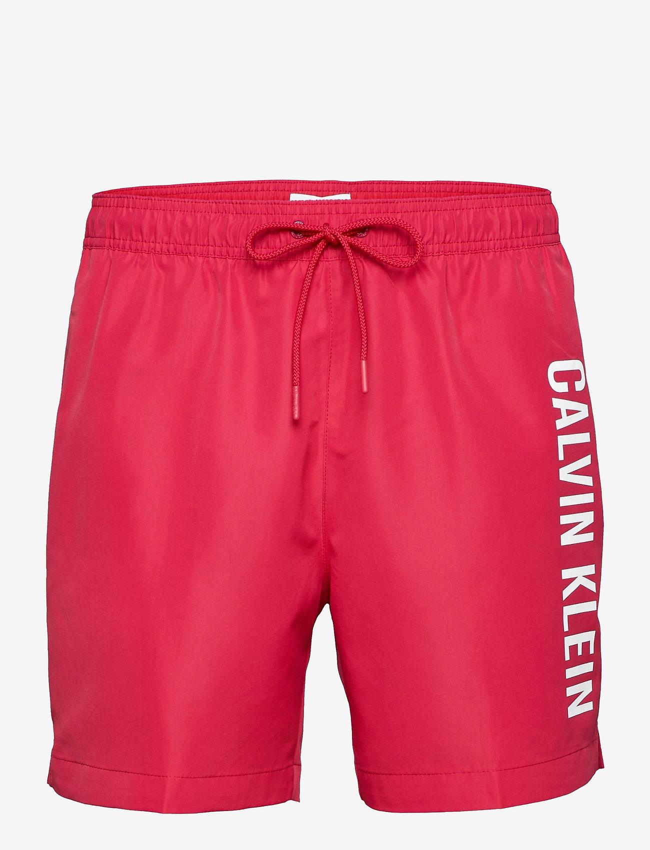 Calvin Klein - MEDIUM DRAWSTRING - shorts de bain - panama rose - 0
