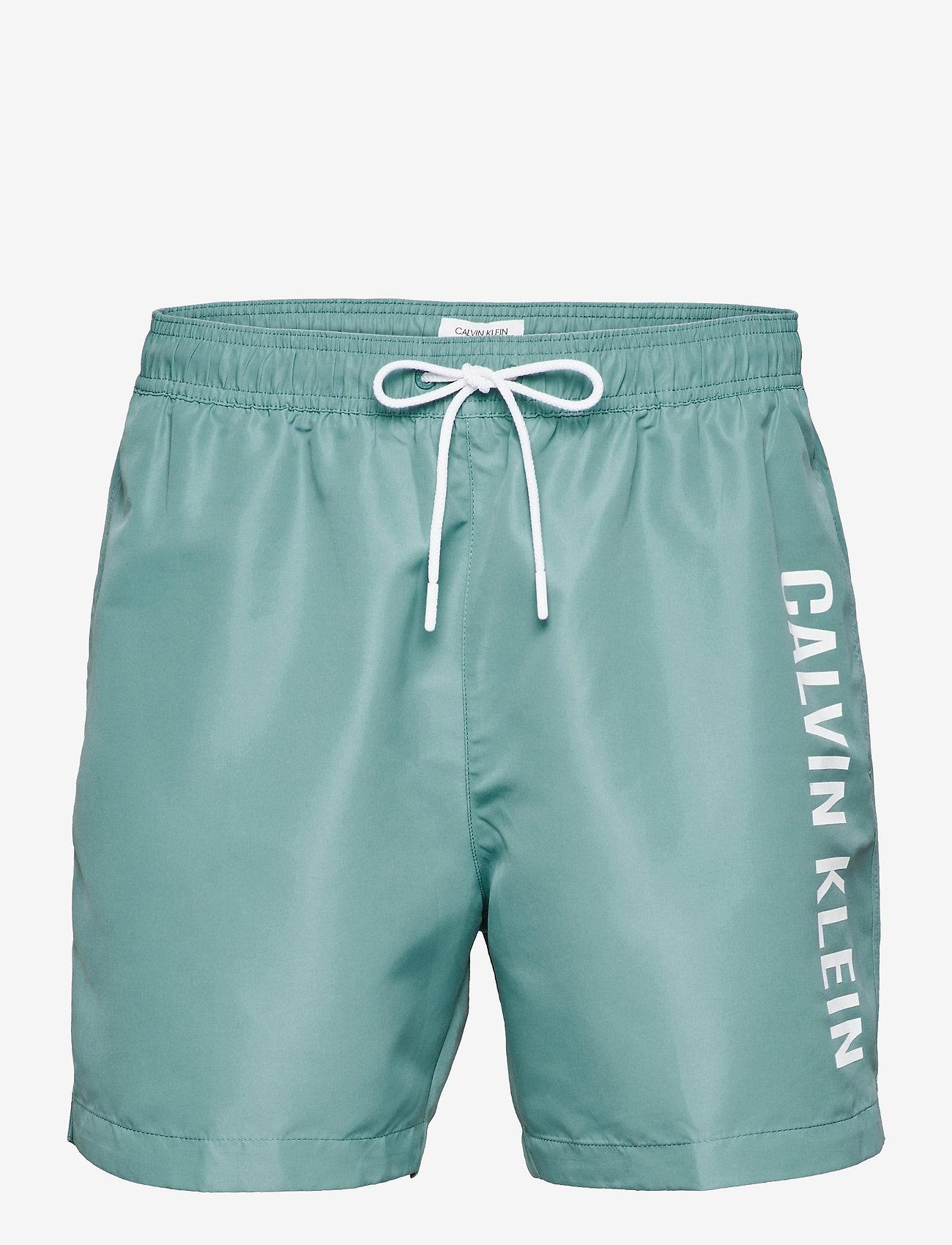Calvin Klein - MEDIUM DRAWSTRING - shorts de bain - sea moss - 0