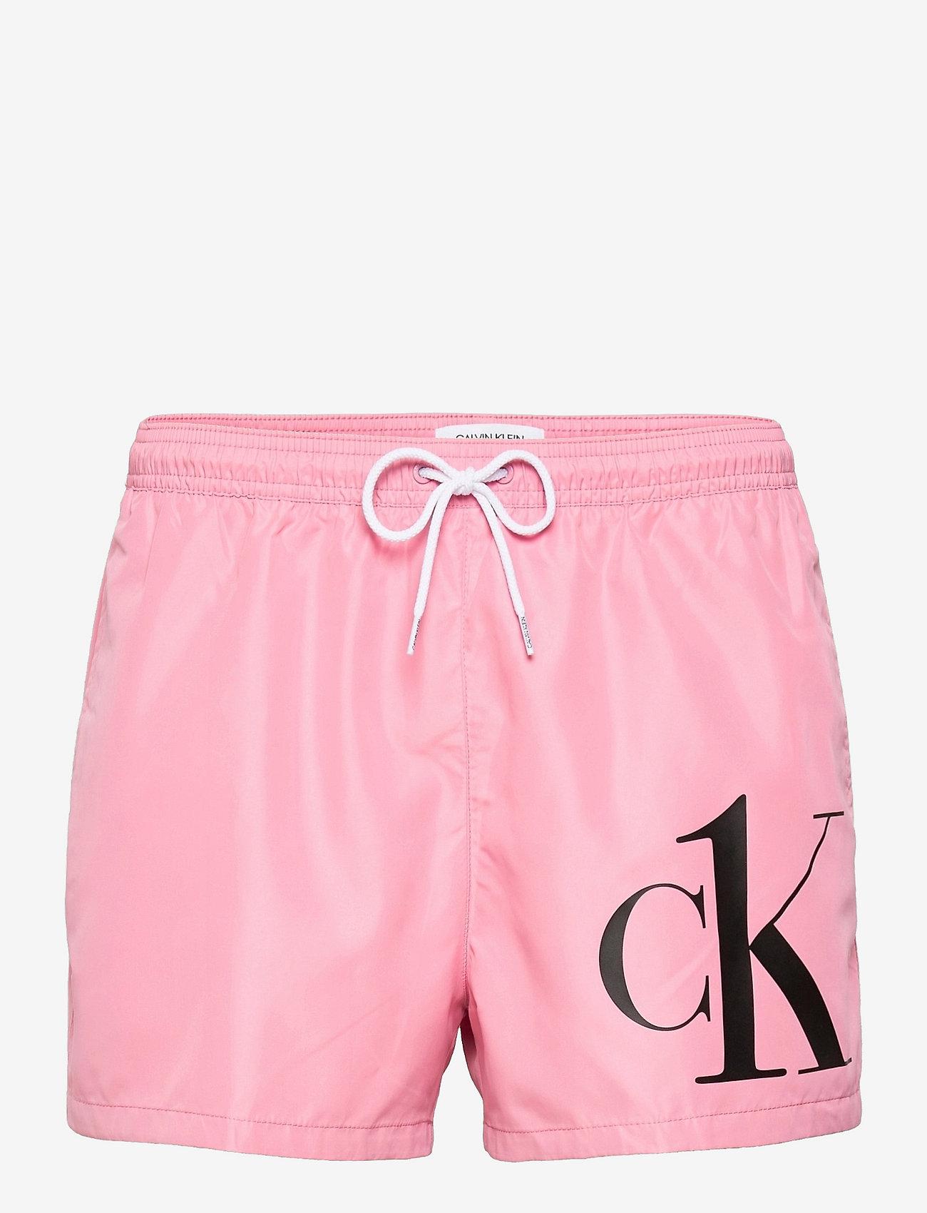 Calvin Klein - SHORT DRAWSTRING - shorts de bain - lovely blush - 0