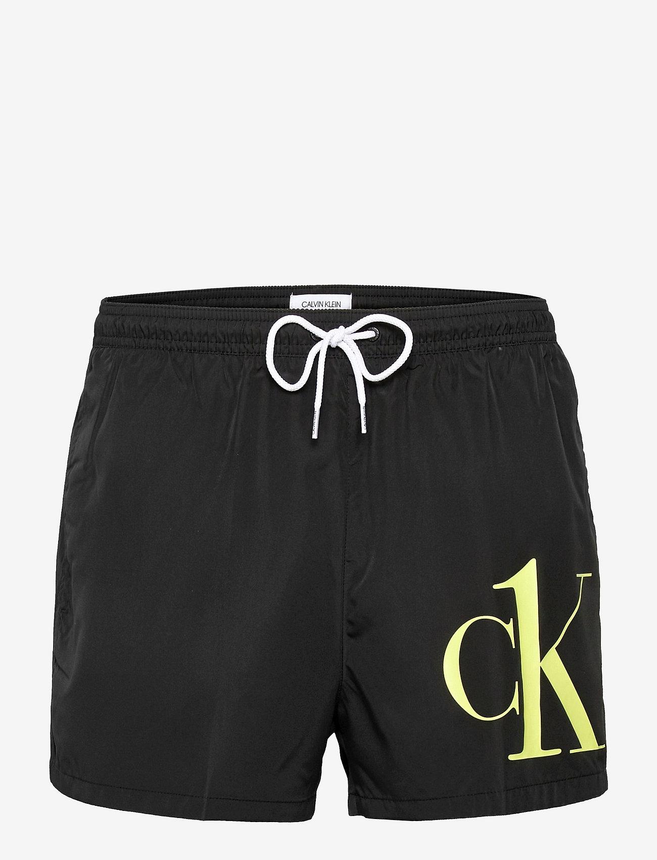 Calvin Klein - SHORT DRAWSTRING - shorts de bain - pvh black - 0