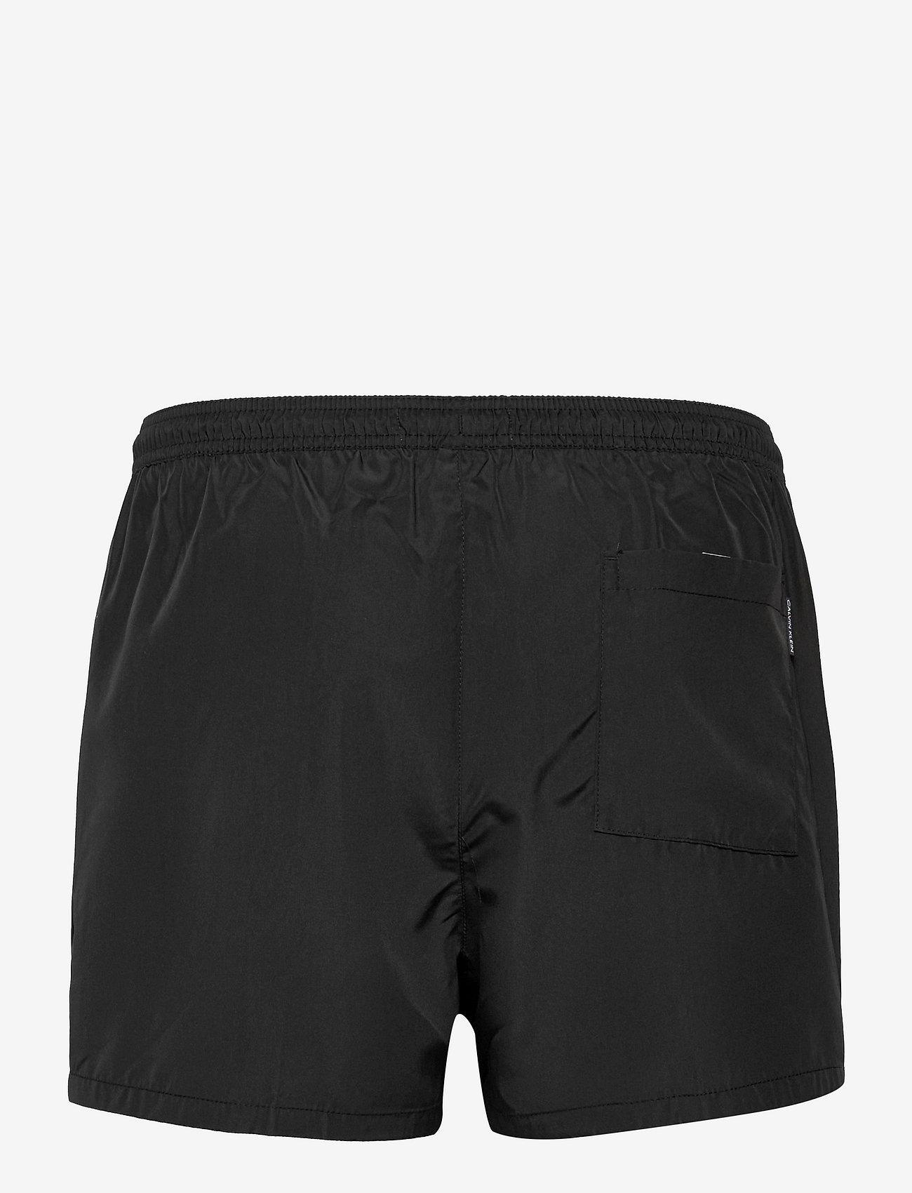 Calvin Klein - SHORT DRAWSTRING - shorts de bain - pvh black - 1