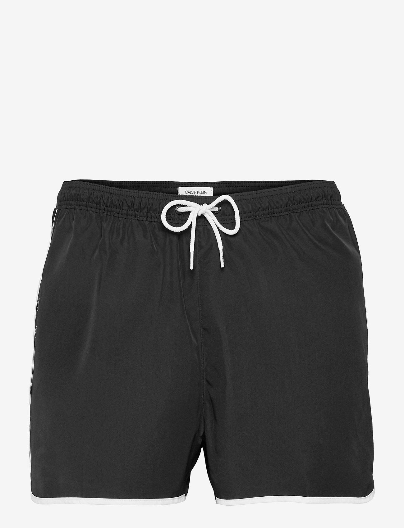 Calvin Klein - SHORT RUNNER - shorts de bain - pvh black - 0