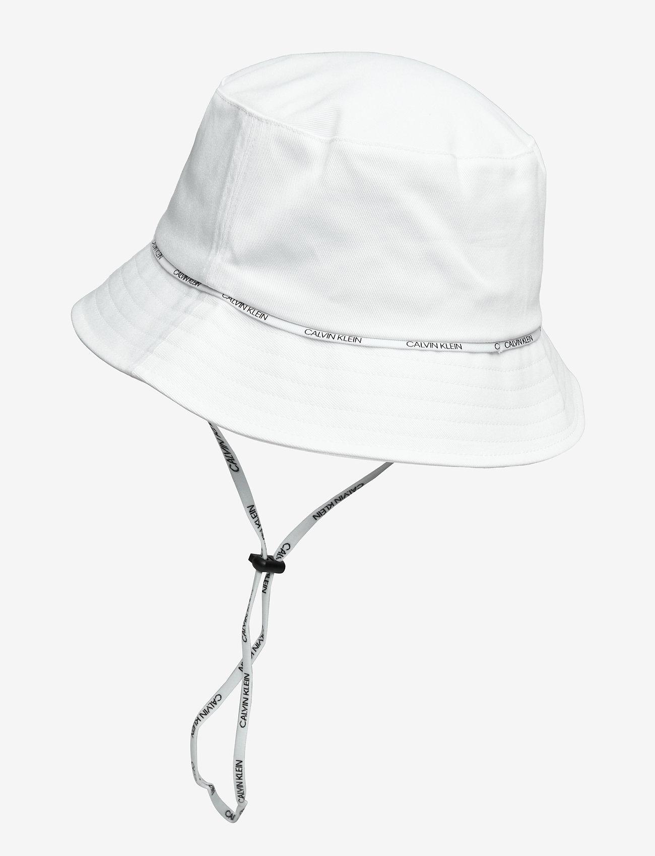 Calvin Klein - BUCKET HAT - bucket hats - pvh classic white - 1