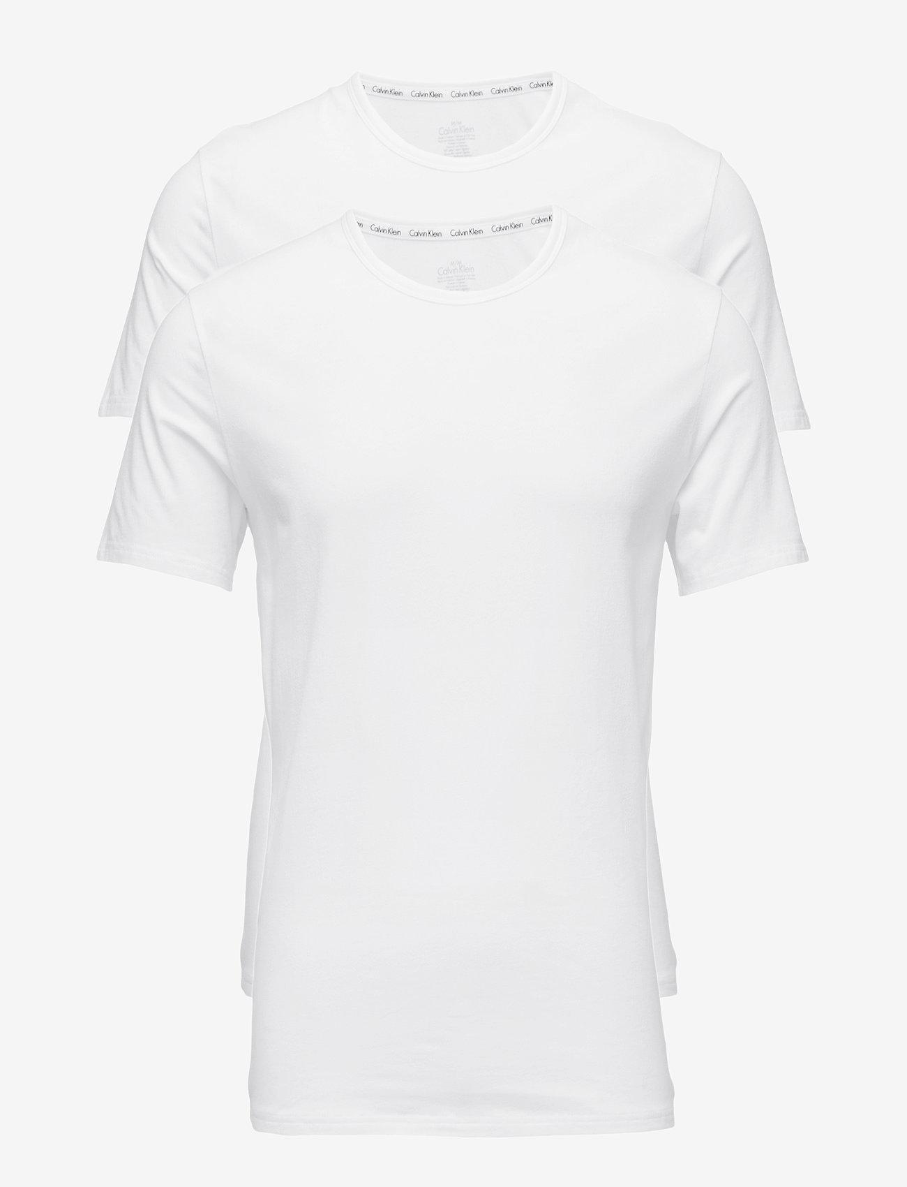 Calvin Klein - 2P S/S CREW NECK - multipack - white - 0