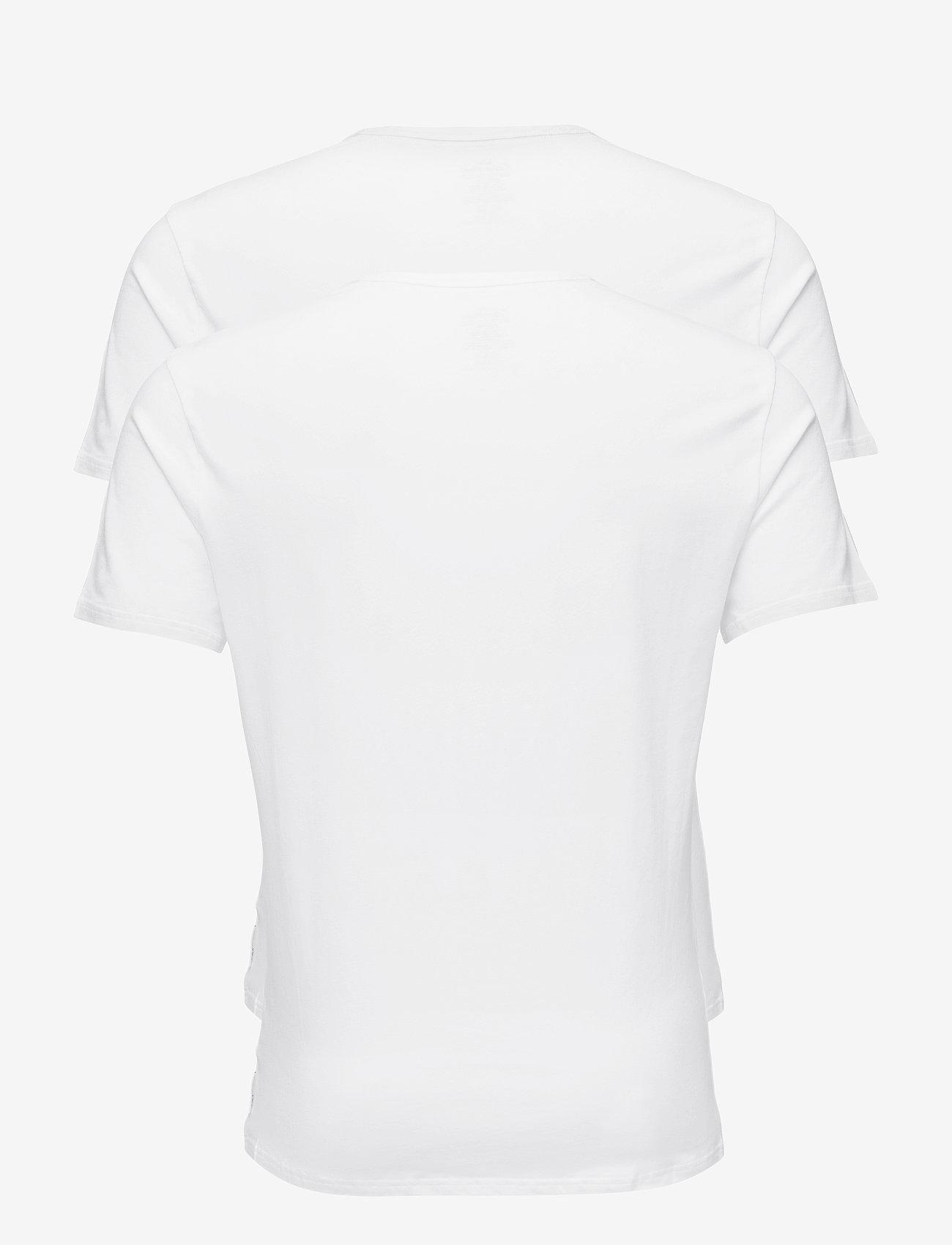 Calvin Klein - 2P S/S V NECK - multipack - white - 1