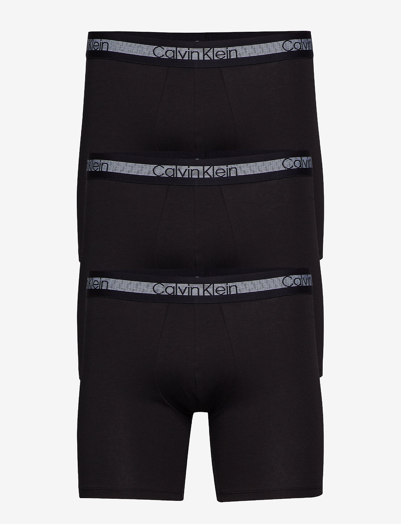 Calvin Klein - BOXER BRIEF 3PK - boxershorts - black - 0