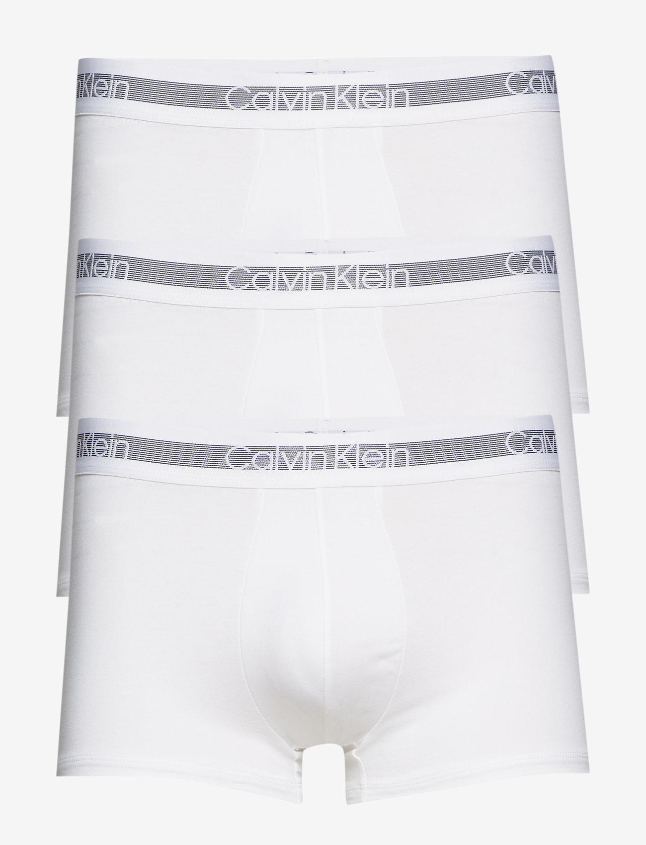 Calvin Klein - TRUNK 3PK - boxershorts - white - 0
