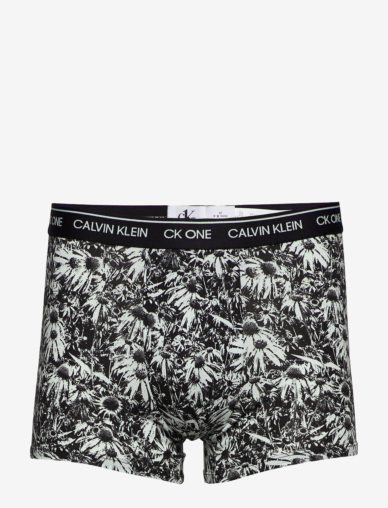 Calvin Klein - TRUNK - boxershorts - purest daisy print_icing - 0