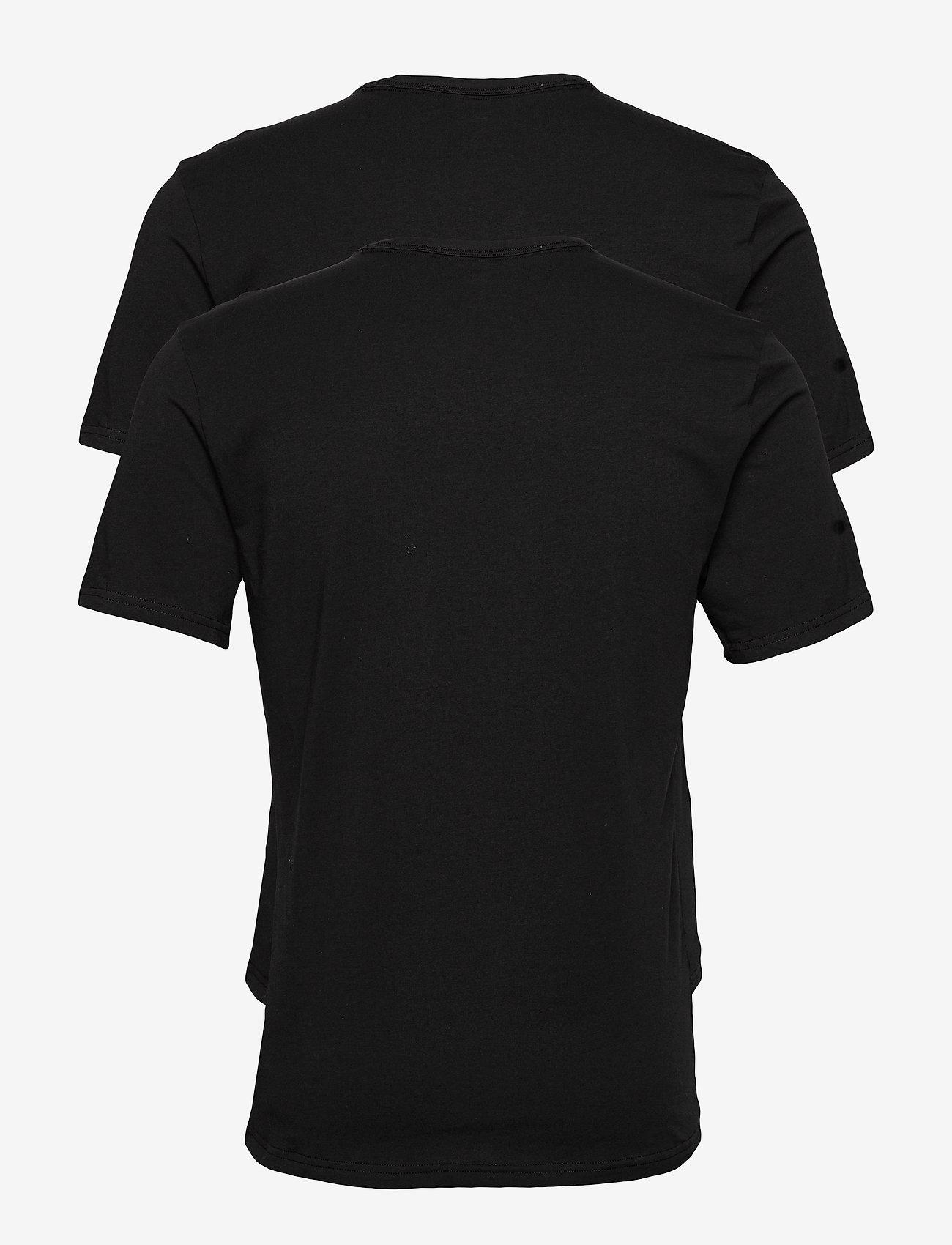 Calvin Klein - S/S CREW NECK 2PK - multipack - black - 1