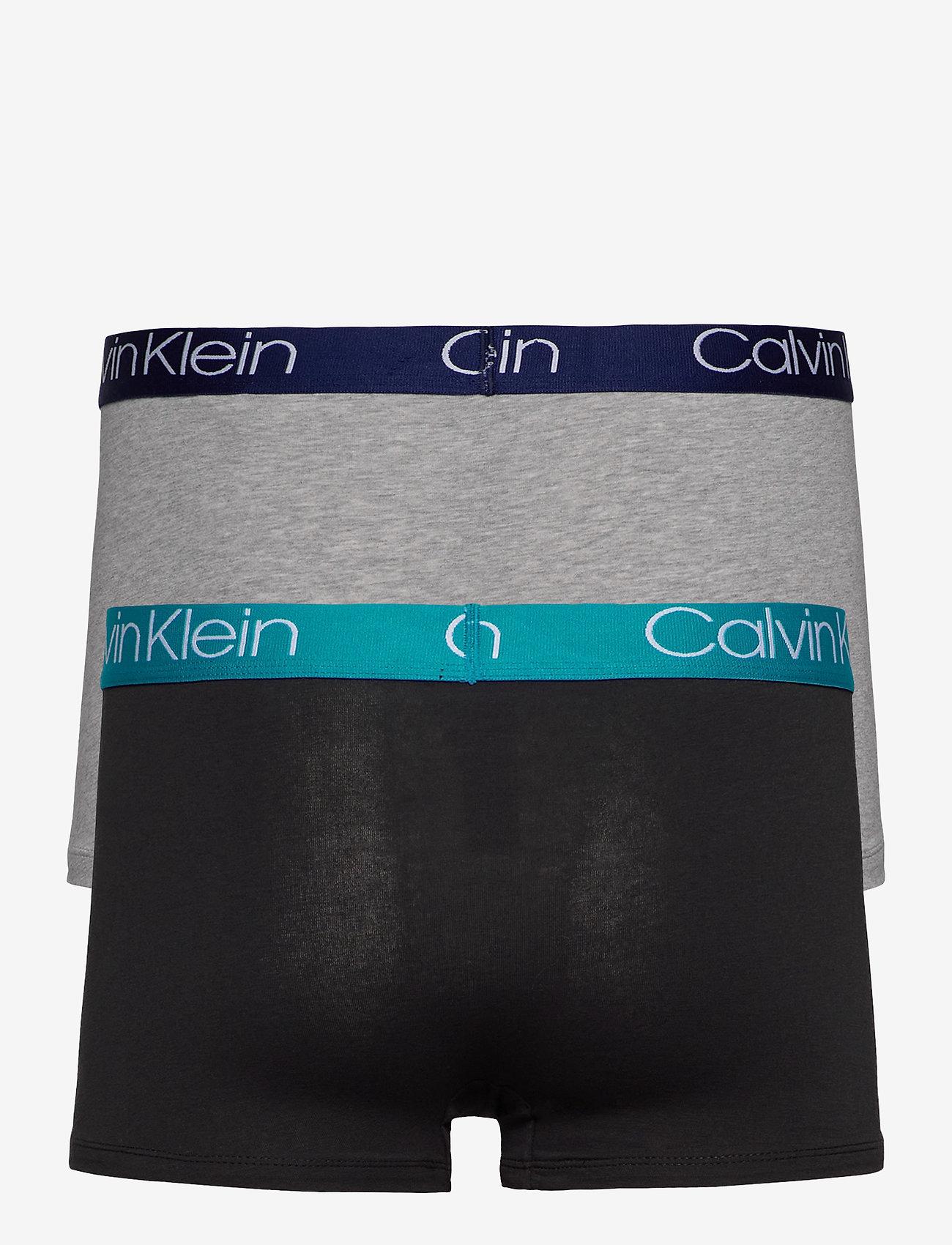 Calvin Klein - TRUNK 2PK - boxershorts - gh w/ horoscope, b w/ maldives - 1