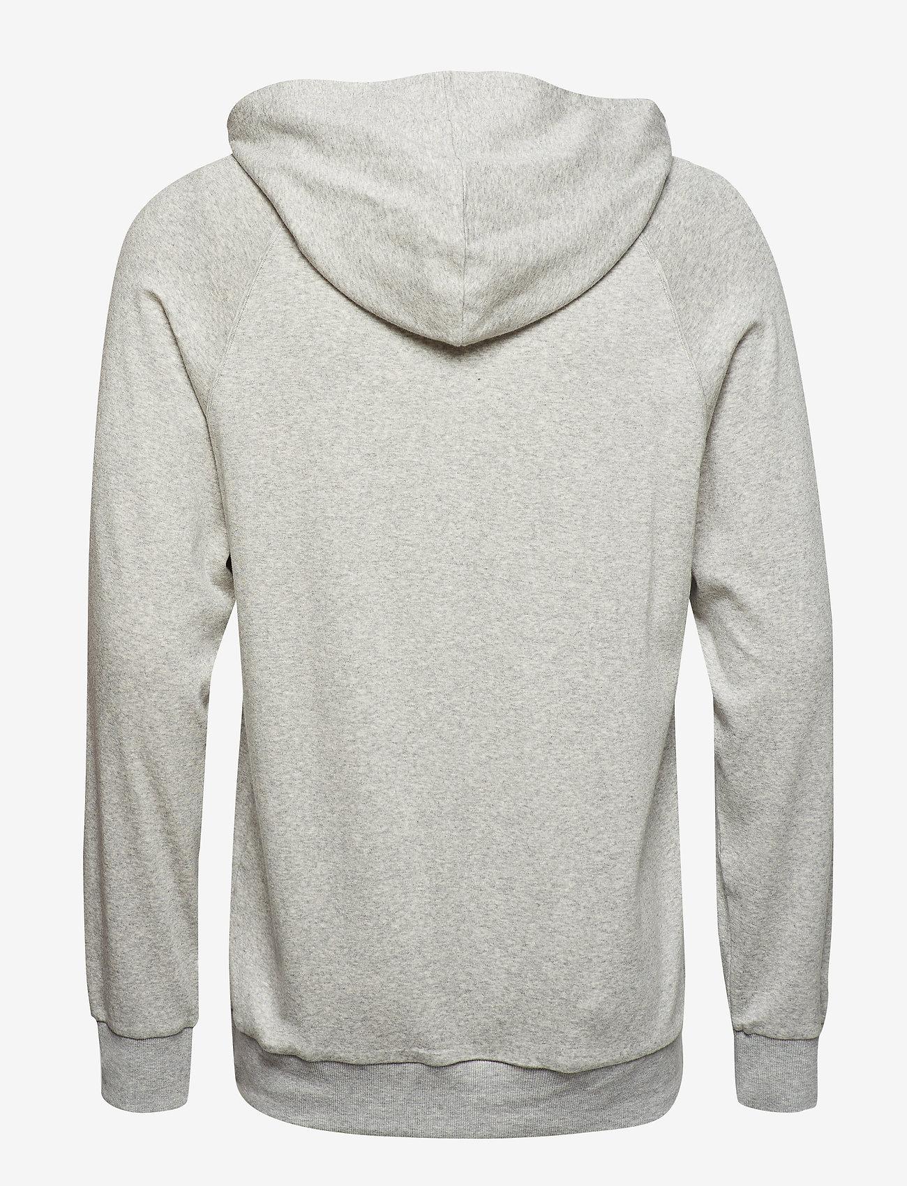 Calvin Klein - L/S HOODIE - sweats à capuche - grey heather - 1