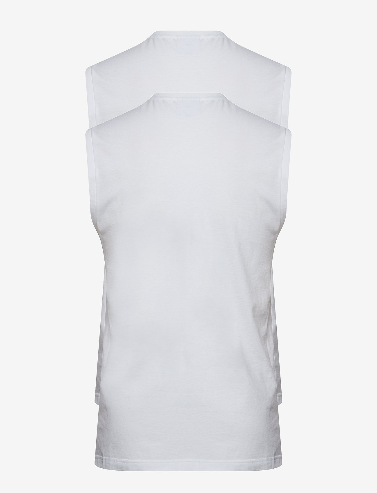 Calvin Klein - MUSCLE TANK 2PK (UNI - basic t-shirts - white - 1