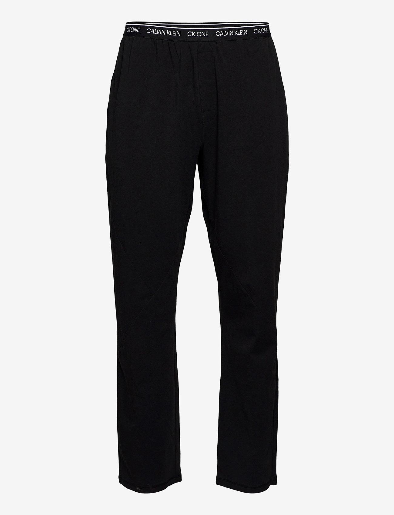 Calvin Klein - SLEEP PANT - bottoms - black - 0