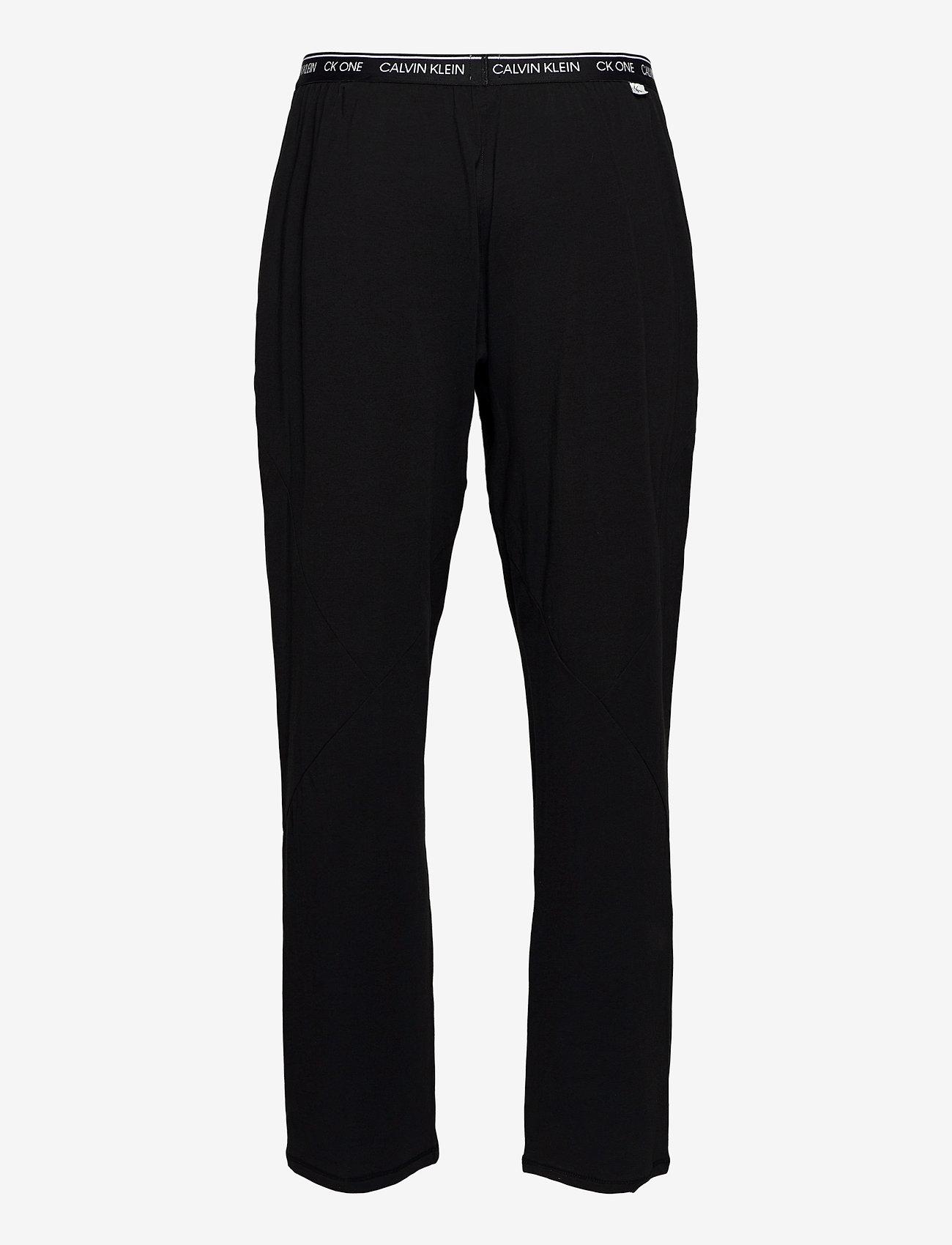 Calvin Klein - SLEEP PANT - bottoms - black - 1