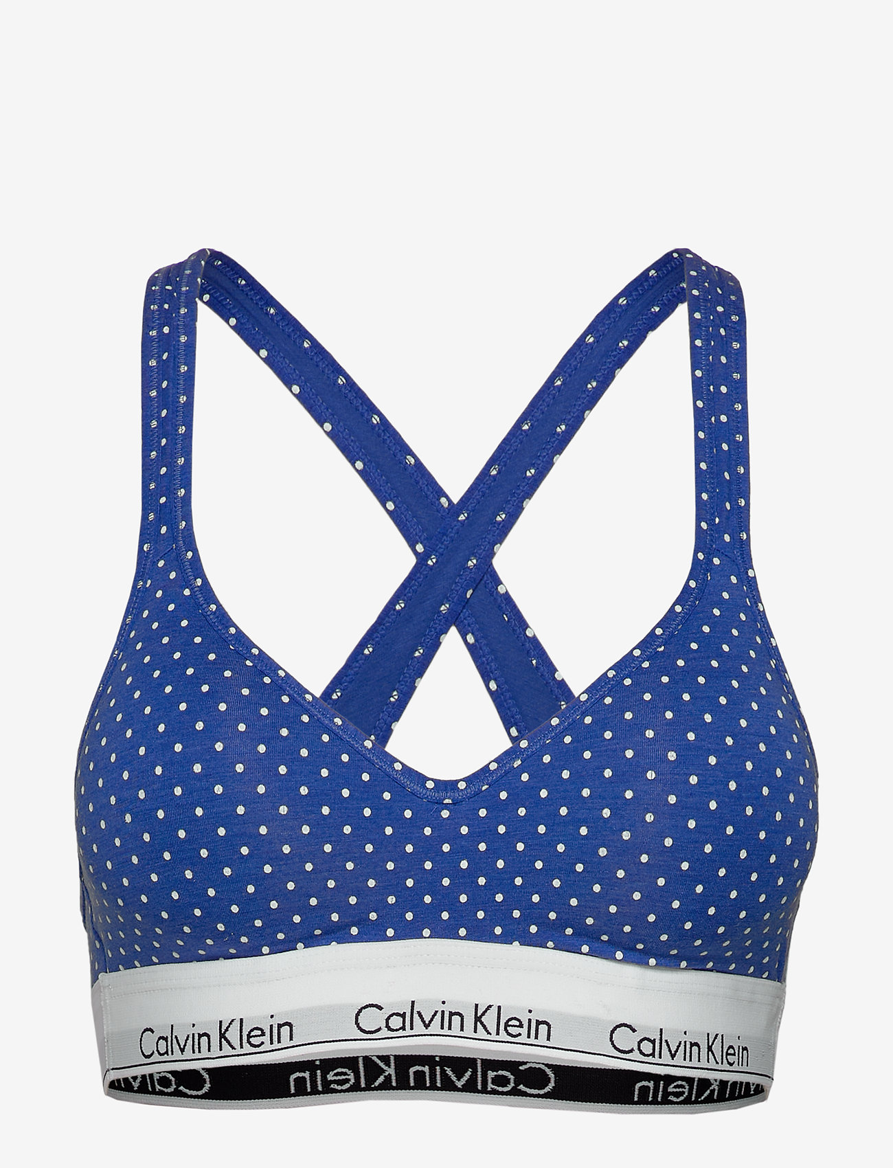 Calvin Klein - BRALETTE LIFT  - bh`er - pure dot_minnow heather