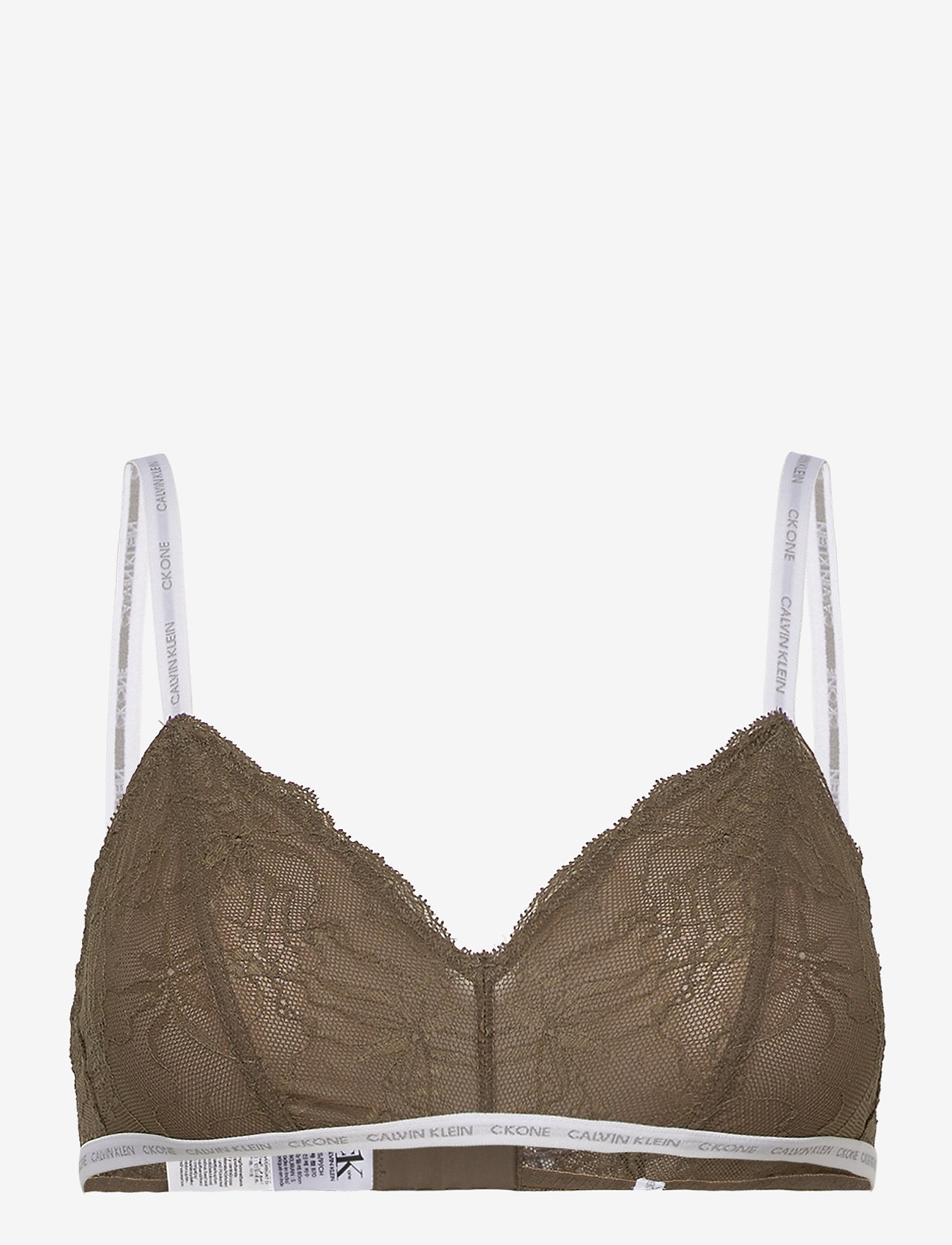 Calvin Klein - UNLINED TRIANGLE - soutien-gorge souple - muted pine - 0