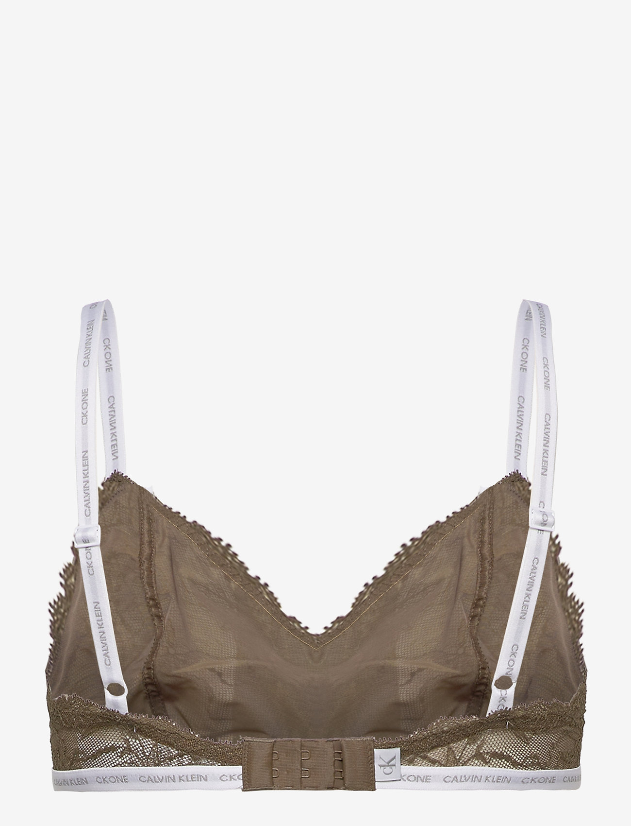 Calvin Klein - UNLINED TRIANGLE - soutien-gorge souple - muted pine - 1