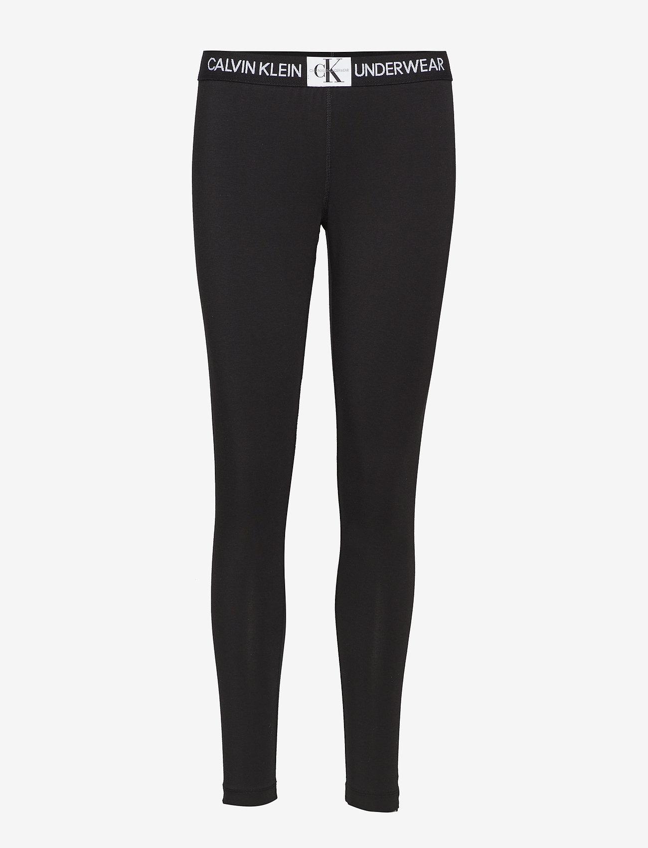 Calvin Klein - LEGGING - leggings - black - 0