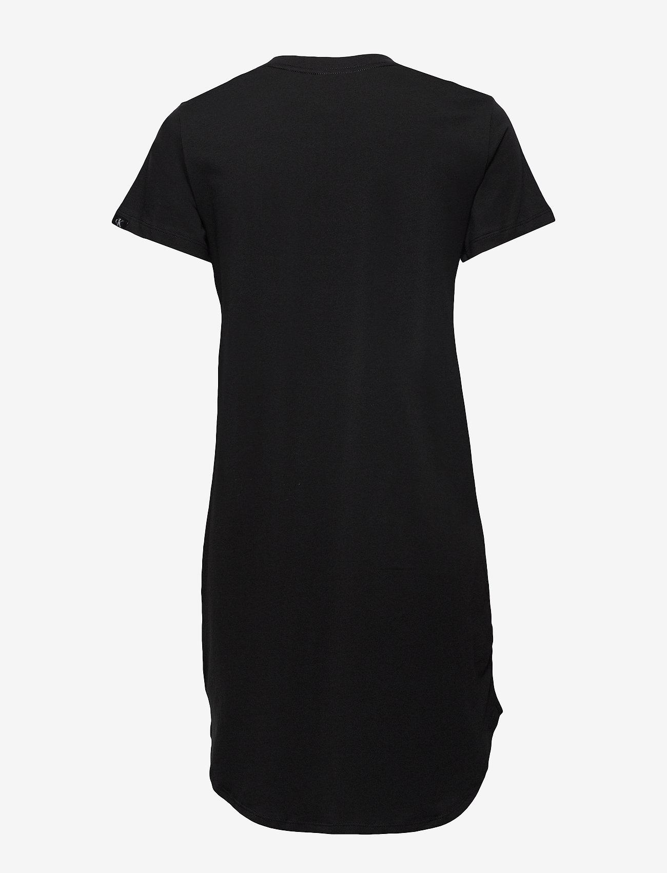 Calvin Klein - S/S NIGHTSHIRT - koszulki do spania - black - 1
