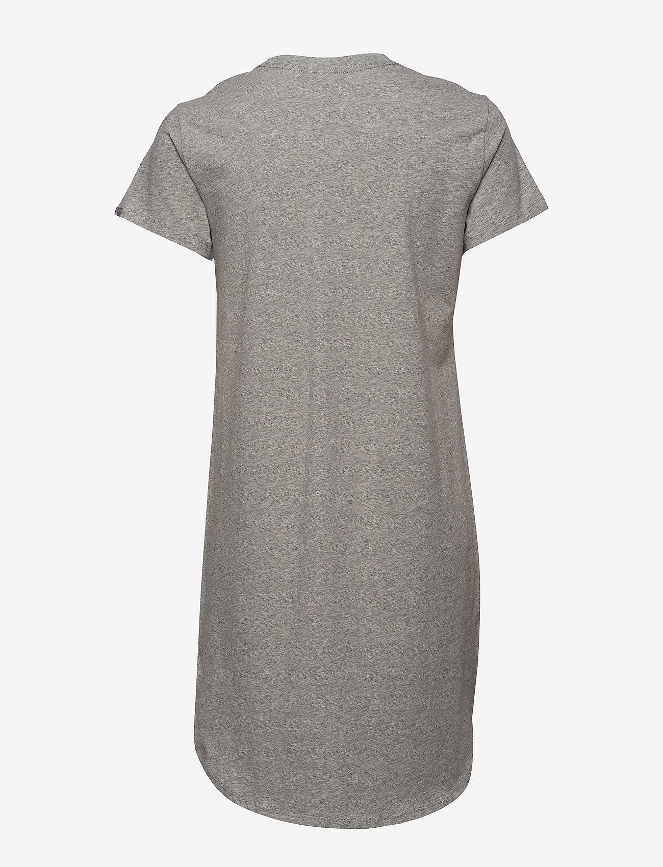 Calvin Klein - S/S NIGHTSHIRT - nachtjurken - grey heather - 1