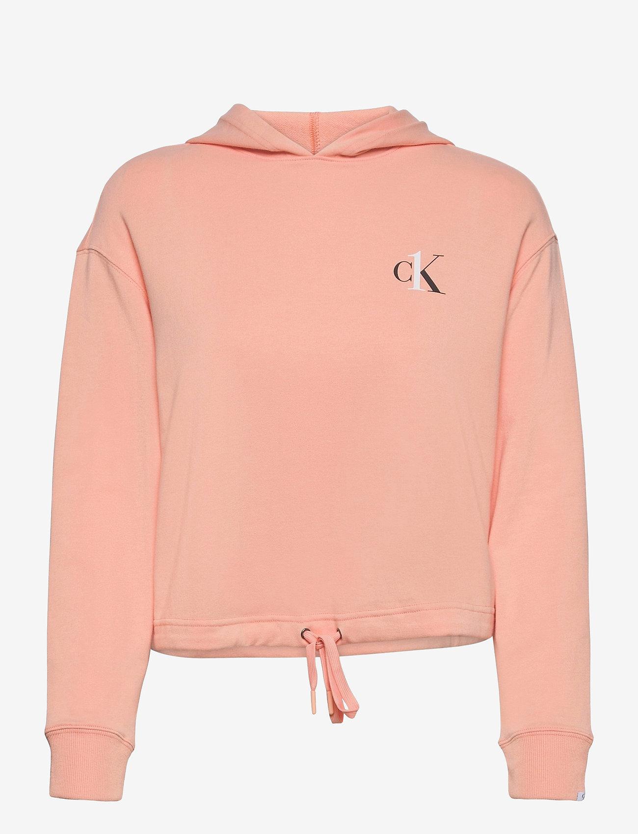 Calvin Klein - L/S HOODIE - góry - cherry blossom - 0