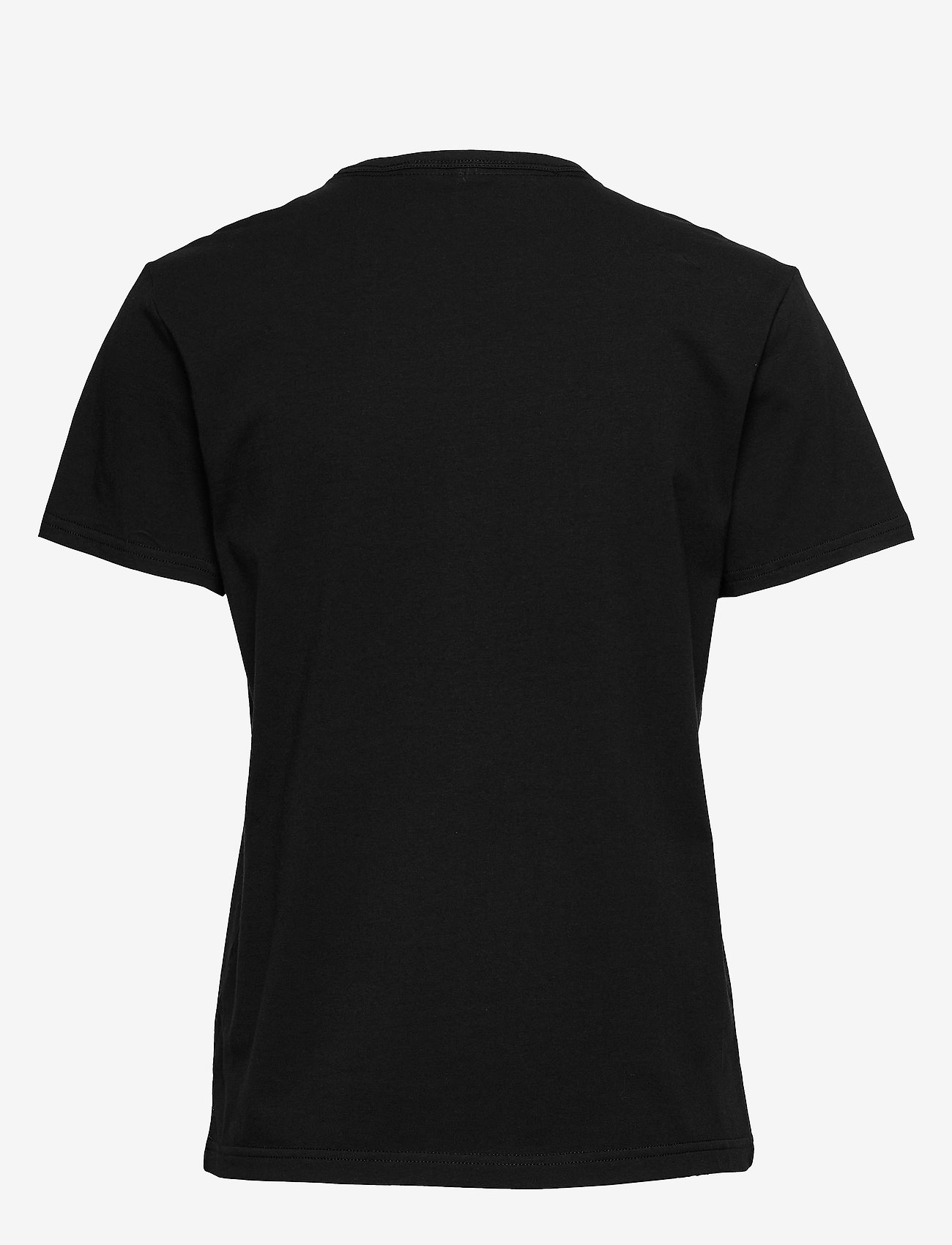 Calvin Klein - S/S CREW NECK - t-shirty - black_white logo - 1
