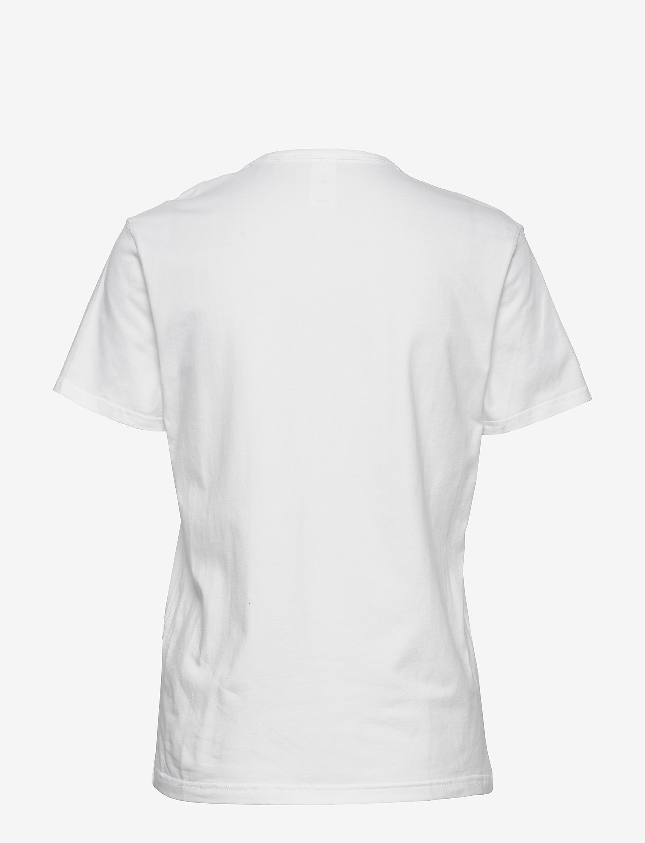 Calvin Klein - S/S CREW NECK - t-shirty - white_black logo - 1