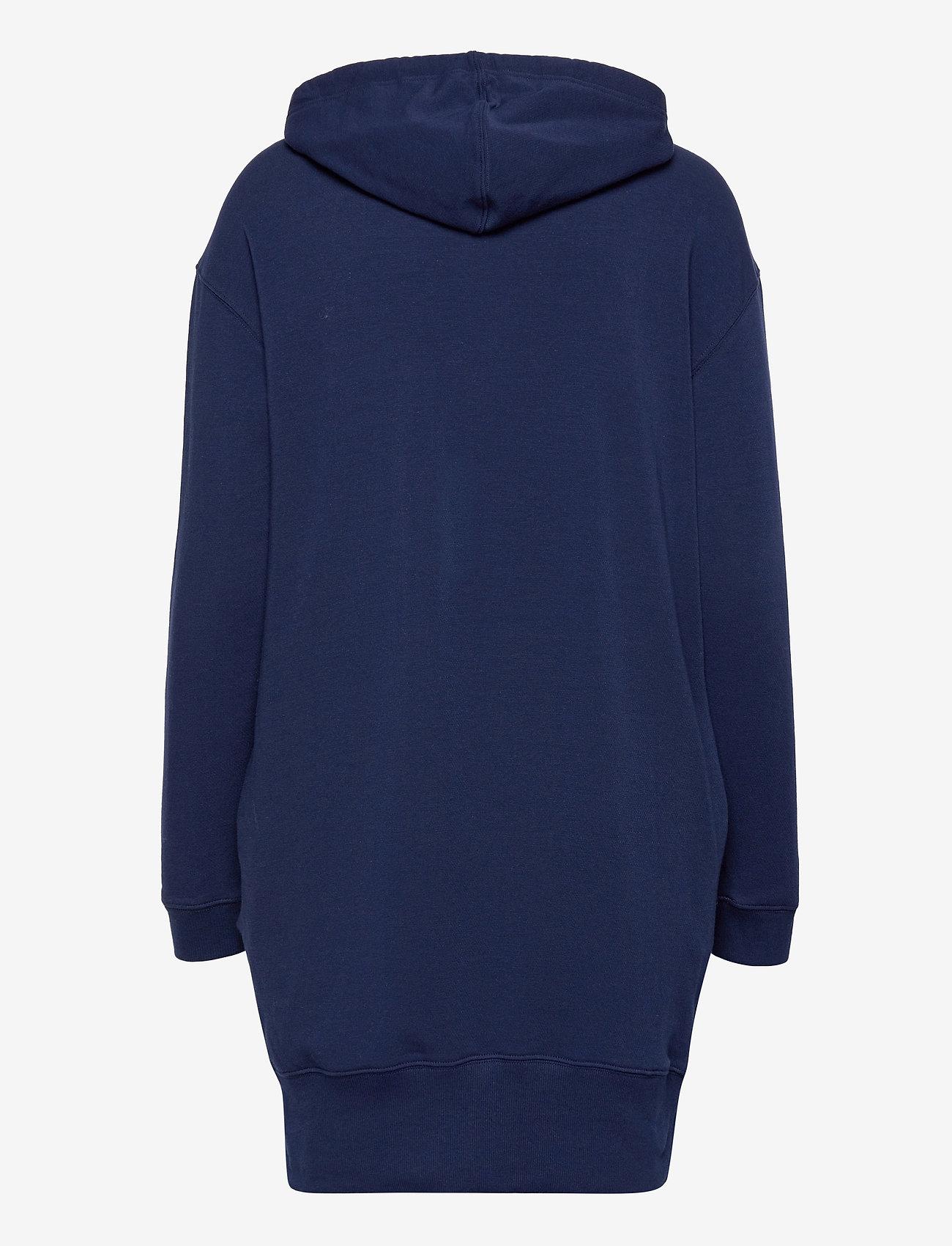 Calvin Klein - L/S NIGHTSHIRT (HOODIE) - hoodies - new navy - 1