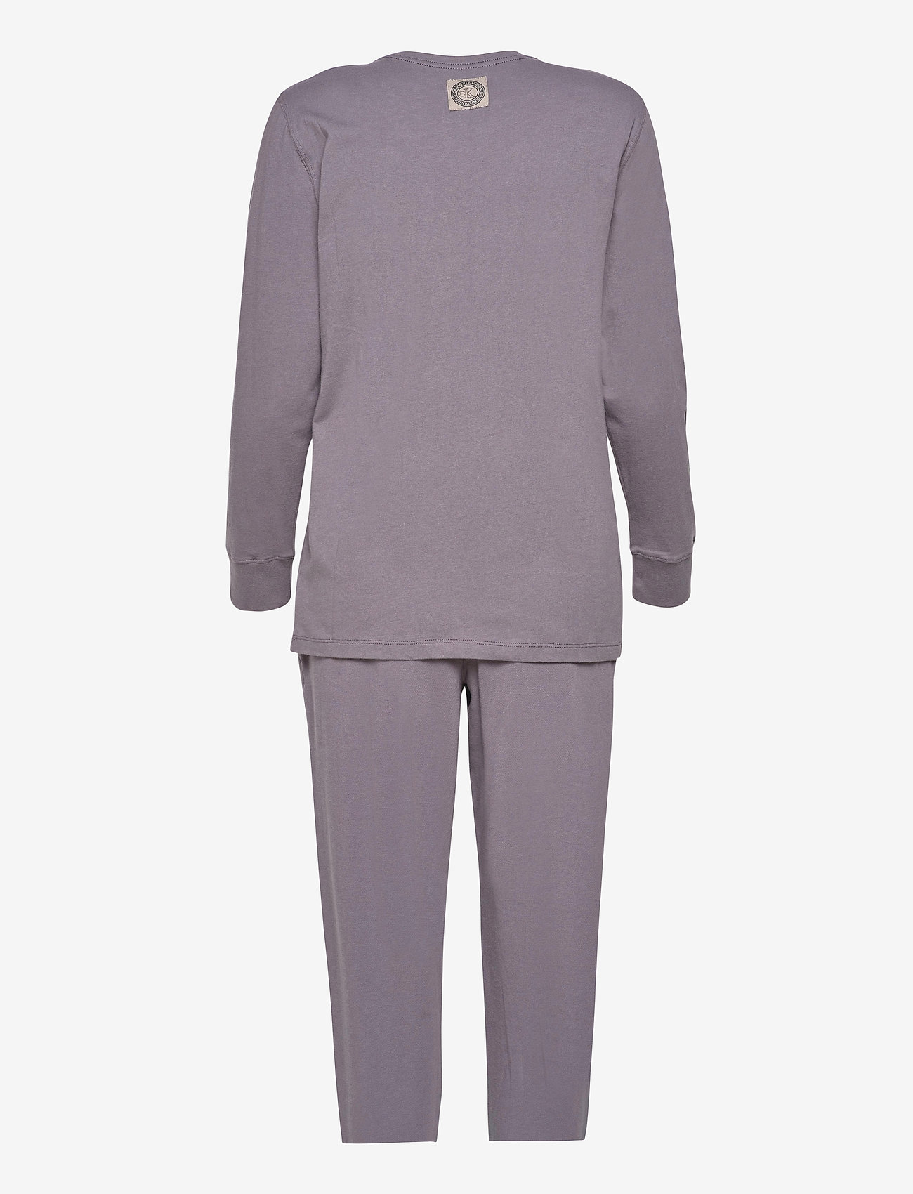 Calvin Klein - L/S PANT SET - pyjama''s - purple haze - 1