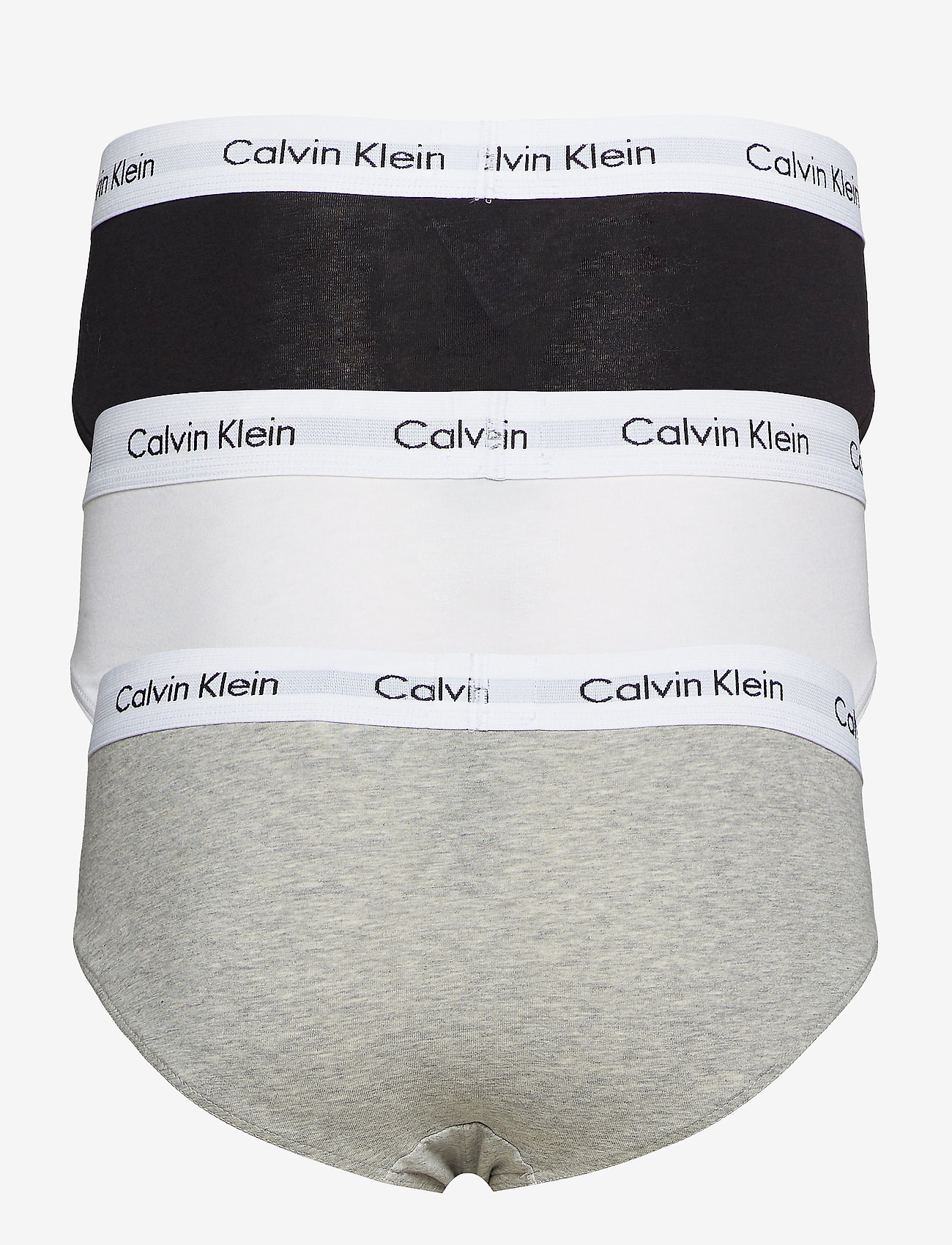 Calvin Klein - 3P HIP BRIEF - onderbroeken - black/white/grey heather - 1