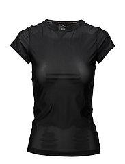 Calvin Klein TOP CREW NECK SHORT - BLACK