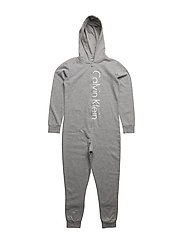 ONESIE - GREY HEATHER