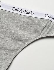 Calvin Klein - THONG - stringi - grey heather - 2