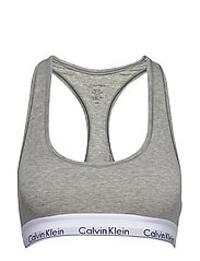 BRALETTE - GREY HEATHER