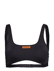 Calvin Klein SQUARE NECK BRALETTE - PVH BLACK