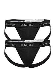 Calvin Klein JOCK STRAP 2PK - BLACK