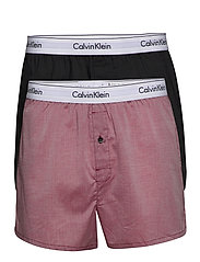 BOXER SLIM 2PK - SMOKY ROUGE HEAHTER /VOID