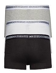 Calvin Klein - TRUNK 3PK - boxershorts - grey heather/black/white - 1